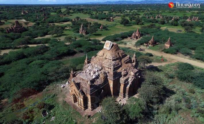 Than Zaw Oo: 'A Natural Disaster Can't Devalue Bagan's Heritage' | The Irrawaddy | Kiosque du monde : Asie | Scoop.it