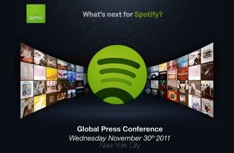 What's Next For Spotify? Powering Music Apps | Music business | Scoop.it