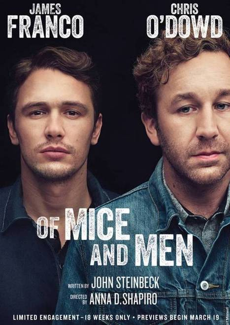 James Franco Pens Eloquent Essay About Broadway OF MICE & MEN Experience - Broadway World | Broadway | Scoop.it