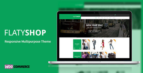 FlatyShop - Responsive Multipurpose WP Theme | wsoftlink2 | Scoop.it