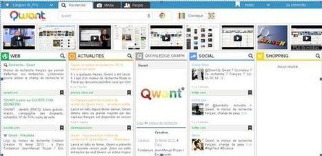 Qwant, une nouvelle façon de rechercher sur internet | Économie numérique | Outils numériques pour associations | Scoop.it