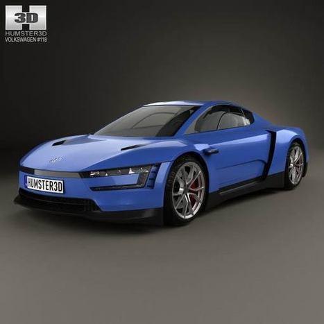 3D model of Volkswagen XL Sport 2014   3D models   Scoop.it
