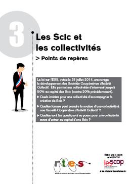 """Sortie des points de repères """"Les Scic et les collectivités""""   ESS et politiques publiques   Scoop.it"""