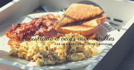 Brouillade d'oeufs aux morilles - Essor | Cuisine et cuisiniers | Scoop.it