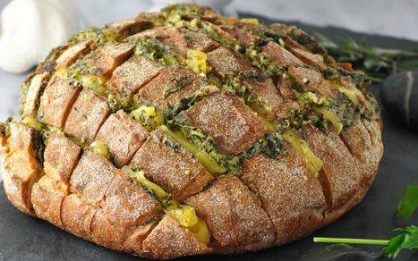 Cheesy Pull Bread [Vegan]   Vegan Food   Scoop.it