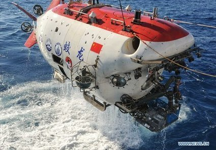 """China's deep-sea sub collects perfect """"chimney vent"""" in SW Indian Ocean - Global Times 