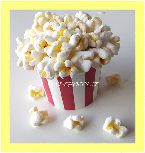 Cupcakes de cine ( palomitas de marshmallows) Paso a paso - Lukor | Una nova dèria: cupcakes | Scoop.it