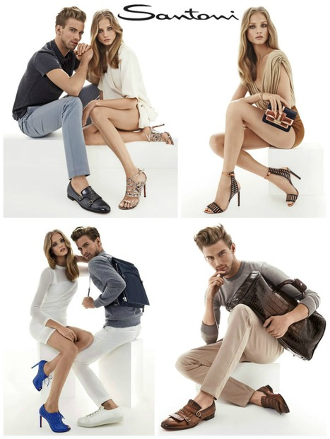 Santoni Shoes: Spring Summer 2015 Advertising Campaign | Le Marche & Fashion | Scoop.it