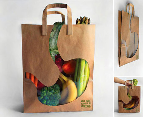 30 Absolutely Creative Shopping Bag Designs | Inspiration | Scoop.it