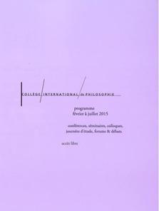 CiPh : 18 juin, Histoire et affects, Claire Pagès, 18h30   Philosophie aujourd'hui   Scoop.it
