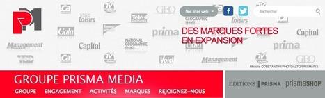 Prisma Média : print et web, même combat - Journalismes.info   télévision   Scoop.it