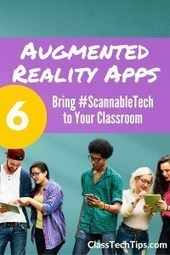 6 Exciting AR Apps for Student Learning with #ScannableTech - Class Tech Tips | Human Resources and Education Law | Scoop.it