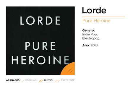 Lorde, Pure Heroine (2013)   Music Reviews   Scoop.it