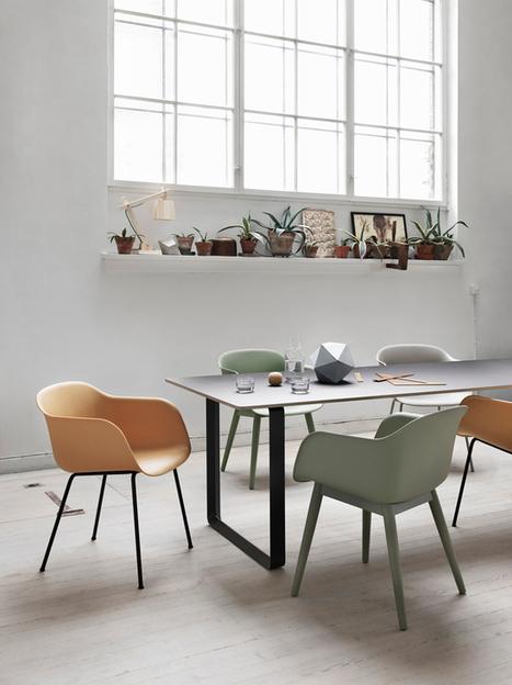 Happy Interior Blog: Muuto's Fiber Chair By Designers Iskos-Berlin   Interior Design & Decoration   Scoop.it
