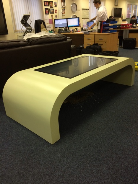 Team Leapfrog deliver another Mantella touch table. This time to The Fusilier Museum. | Technology | Scoop.it