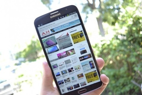 Samsung to Introduce new Galaxy Mega Smartphones This Year | Nerd Vittles Daily Dump | Scoop.it