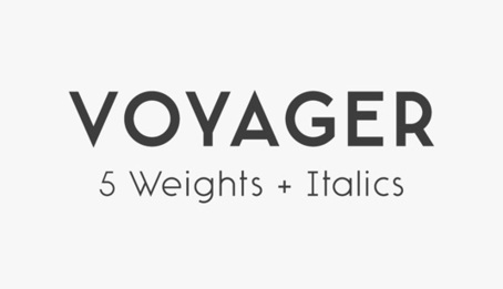 Font of the day: Voyager | Typography | Creative Bloq | Veille et ressources webdesign | Scoop.it
