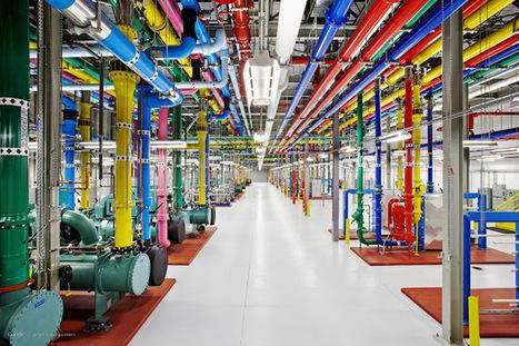 Google nos invita al interior de uno de sus Centros de Datos ~ GooGleeK | Algo donde aprender | Scoop.it