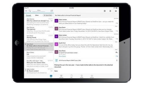 Microsoft Outlook for iOS, llega la nueva aplicación de correo para iOS | iPad classroom | Scoop.it