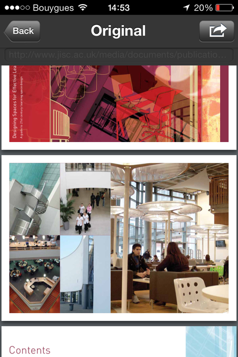 Designing effective spaces for learning | Spaces to learn | Scoop.it