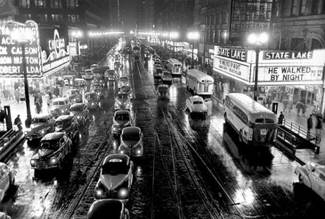 Chicago, 1949, by Stanley Kubrick | JWK Geography | Scoop.it