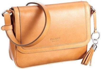 !@#   Picard Virginia 5087, Damen Umhängetaschen, Braun (caramel 358), 24x20x7 cm (B x H x T) | Damen Handtaschen Günstig | Scoop.it