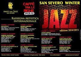Eventi News 24: SAN SEVERO WINTER JAZZ 2014/15 - PRESENTAZIONE | San Severo Winter Jazz 2014-15 - Art Dir. Antonio Tarantino - Produzione: Caffè Tra Le Righe-Spazio Off in collaborazione con Assoc. Amici Jazz San Severo | Scoop.it