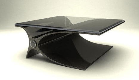 Aeron Tozier: Working Out the Design Language of Carbon Fiber | Art, Design & Technology | Scoop.it
