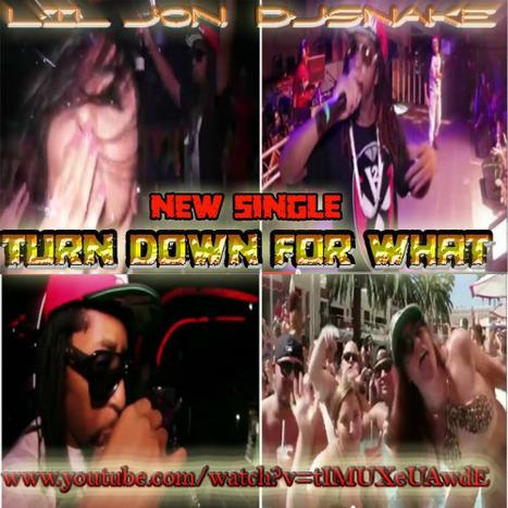 "New single by Lil John & DJSnake ""TurnDownForWhat"" | GetAtMe | Scoop.it"