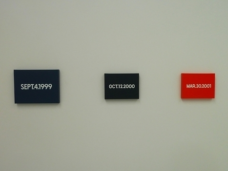 On Kawara, Giant of Conceptual Art, Has Died at 81 | Life in Progress | Scoop.it
