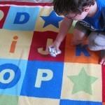Aluminum foil alphabet game in preschool   Teach Preschool   Scoop.it