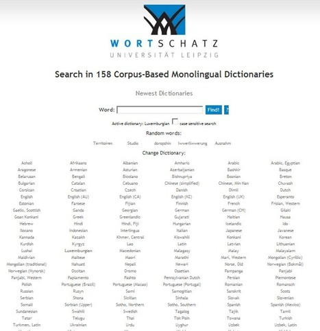 Wortschatz - International Portal | Aprendiendo a Distancia | Scoop.it