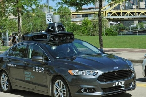 Uber prêt à se passer de ses chauffeurs en développant une voiture autonome | #Automotive #Applications | Scoop.it