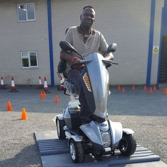 TGA helps NW6 disabled Jay get his stolen legs back thanks to Vita mobility scooter — News — TGA Mobility | Disability and Mobility | Scoop.it