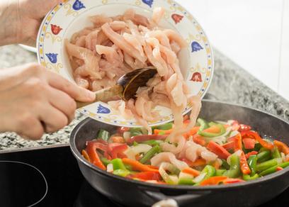 Very Easy Chicken Fajitas | Best Easy Recipes | Scoop.it