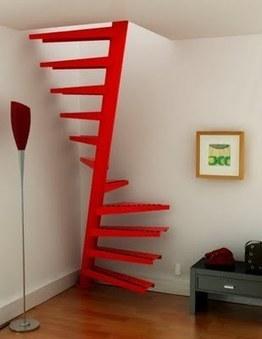 Arquitectura de Casas: Escalera en un metro cuadrado | Espacios Reducidos | Scoop.it