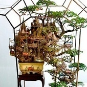 Artist transforms bonsai trees and empty cans into insane Lilliputian cities | FASHION & LIFESTYLE! | Scoop.it