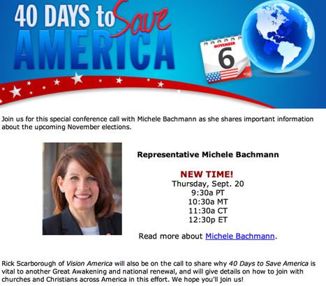 AIDS as punishment, Bachmann as willing ally | Daily Crew | Scoop.it
