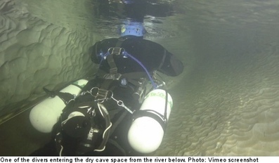 Swedish divers in shock underground cave find - The Local | All about water, the oceans, environmental issues | Scoop.it