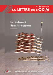 Lettres de l'OCIM Archive - OCIM | literature | Scoop.it