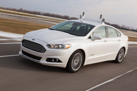 Ford Unveils Its First Autonomous Vehicle Prototype | Autopia | WIRED | Tesla Motors (+ other electric cars news) | Scoop.it