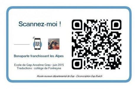 Des QR codes au service de la pédagogie et de la culture - Prim à bord   TIC et TICE mais... en français   Scoop.it