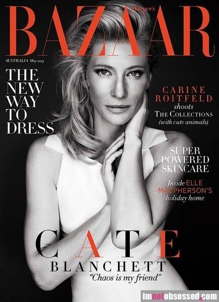 CATE BLANCHETT  Opens Up To Harper's Bazaar Australia | zyxxle | Scoop.it