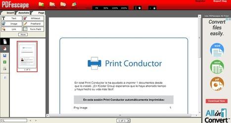 Herramientas para editar PDF - Neoteo | Educacion, ecologia y TIC | Scoop.it