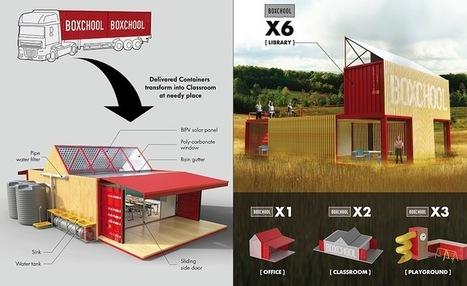 Boxschool : l'école portable qui apporte l'éducation aux populations pauvres | CaféAnimé | Scoop.it