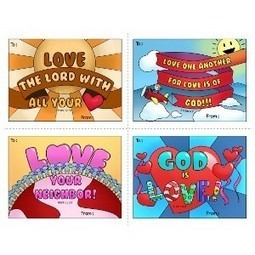 Herald Store Free - Valentine Card Freebie | Resources for Catholic Faith Education | Scoop.it