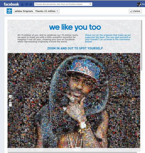 Adidas Originals dans les meilleures pages Facebook   Best Social Media Practices   E-Markethings   Scoop.it