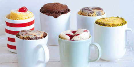 Mug cake : nos recettes originales du gateau à cuire au micro-ondes - Terrafemina | cuisine du monde | Scoop.it