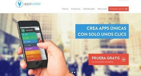 5 excelentes opciones para crear apps móviles sin saber programar | Links sobre Marketing, SEO y Social Media | Scoop.it
