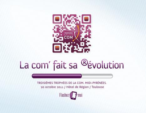 """""""La Com fait sa Révolution"""" un Qrcode design pour les Trophées de la Com Midi-Pyrénées 2011   Marketing digital   Scoop.it"""